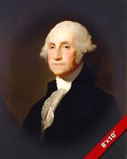 GEORGE WASHINGTON US PRESIDENT HISTORY PAINTING ART REAL CANVAS GICLEEPRINT