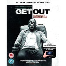 Get out BD Digital Download Blu-ray 2017 DVD Region 2