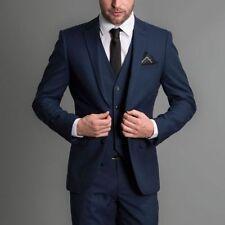 Custom Made Groom Tuxedos Best Man Groomsmen Wedding Men Suits Business Suit