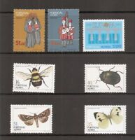 Portugal Azores SC # 342-348 Costumes, Europa, Insects .MNH