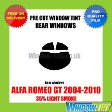 ALFA Romeo GT 2004-2010 35% di LUCE POSTERIORE TASTINI finestra Tinta