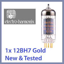 1x NEW Electro Harmonix 12BH7 EH Gold 12BH7EH 12BH7A Vacuum Tube GOLD TESTED