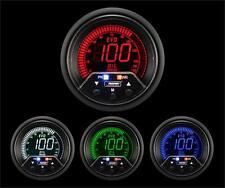 "Digital Oil Pressure Gauge-Premium EVO 60mm 2 3/8"" 4 color Red/Blue/Green/White"