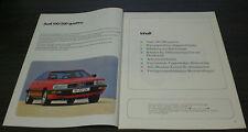 Audi 100 200 Typ 44 C3 Quattro Selbststudienprogramm  SSP 64 Stand  09/1984