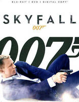 Skyfall (Blu-ray/DVD, 2-Disc Set, Includes Digital Copy UltraViolet)
