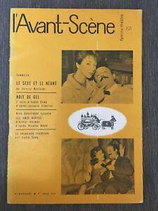 L'Avant Scene June 1960 Le Sexe et le neant Nuit de Gel