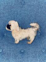 "Antique VTG. Steiff Pekingese Original 8"" Dog Mohair Stuffed Animal Germany Toy"