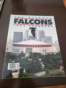 1992 Atlanta Falcons Yearbook Near Mint Condition