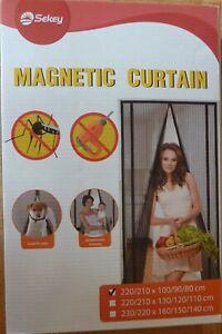 Fliegengitter Fliegennetz Insektenschutz Moskitonetz mit Magnetverschluss / Tür