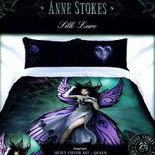Anne Stokes - Silk Lure - Queen Bed Quilt Doona Duvet Cover Set