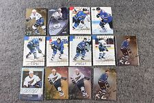 Lot of 13 Original Washington Capitols Hockey Nhl Cards Signed Autograph