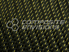 Gold Reflections™ Carbon Fiber Fabric 2x2 Twill 50