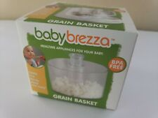 Baby Brezza Grain Basket Cook Rice Barley Pasta For One Step Baby Food Maker
