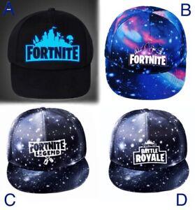 Boys Fortnite Teens Adults sport baseball cap hat Battle Royal Legend Gaming 6+