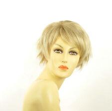 short wig for women clear light blond blond wick ref ROMANE 15t613 PERUK