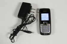 Nokia 2610 - Black (At&T) Cellular Phone Turns on Needs Sim Card Normal Wear