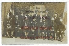 More details for holbeach; fire brigade with trophy, rp posted 1904. nr spalding/boston