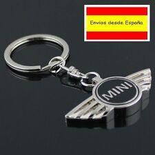 llavero de coche diseño cromado MINI BMW regalo