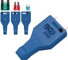 Probador de fusibles para Mini Estándar y maxi-sicherungen LED angezeigt BGS