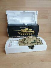 MINICHAMPS TANK M60A1 W/ERA  KUWAIT CITY 1991 1:35 Scale.