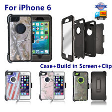 New For iPhone 6 Defender Case Cover w/Screen &( Holster Clip Fit Otterbox )