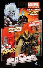 """2011 HASBRO MARVEL LEGENDS (TERRAX) GHOST RIDER 6"""" ACTION FIGURE RED FLAMES"""