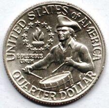 USA 25 cents 1976 Drummer mint P UNC (#1827)