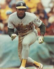 RICKEY HENDERSON 8X10 PHOTO OAKLAND ATHLETICS A's MLB BASEBALL PICTURE
