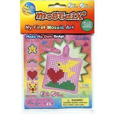 Articoli rosa per mosaici per hobby creativi