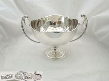 RARO GIORGIO V HM Argento Sterling 2 gestiti Piedistallo Bowl 1920