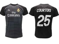 Maillot Courtois Real Madrid Officiel 2018 2019 Gardien de But Adulte Enfant