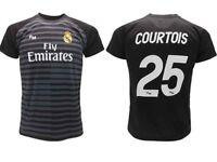 Camiseta Courtois Real Madrid Oficial 2018 2019 Portero Adulto Niño Thibaut