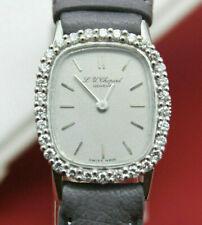 Chopard Damen Uhr Geneve Gold 750 und ca. 0,5 ct. Brillanten Swiss Made
