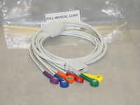 Zoll 8000-1008  / 3012-0021 AED V Lead Patient Cable for 12-Lead ECG