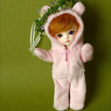 "1/12 bjd 5.7"" high Bebe Doll - Sinko Animal All-in-one (Pink)"