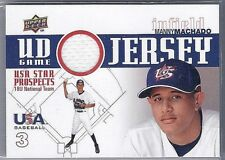 "MANNY MACHADO 2010 UD ""UD GAME JERSEY"" USA STAR PROSPECTS GAME USED JERSEY"