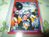 MARIO LEMIEUX 1991-92 Score Pittsburgh Penguins   #315 CANADIAN ENGLISH ONLY