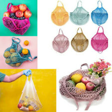 Mesh Net Turtle Bag String Shopping Bag Reusable Fruit Storage Handbag Totes New