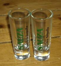 2 x vintage Sauza Nuestro Tequila shot glasses