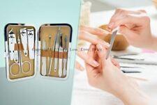 Manicure Pedicure Cuticle Cutter Ear pick Nail Clipper Travel Set Nail Care 10