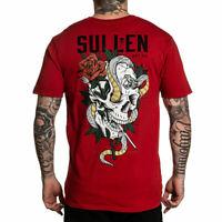 Sullen Men/'s Tattoo Land Short Sleeve T Shirt Black Jack Rudy Apparel Tees