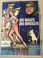 Peter Sellers, Die Maus die brüllte  - Original Filmplakat  A1