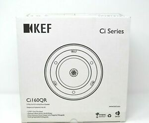 4 x BRAND NEW BOXED KEF Ci160QR 2-Way Uni-Q In-Ceiling Round Speakers