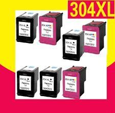 Cartouches alternatives pour HP 304 / 304XL DeskJet Envy 5032 5034 5052 5055