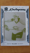 2016-17 UD The cup SONNY MILANO Yellow ROOKIE printing plate 1/1