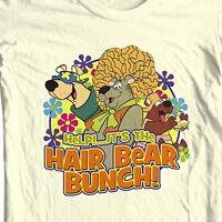 The Hair Bear Bunch T-shirt 80's Saturday Morning Cartoons 100% cotton tee