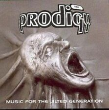Prodigy Music for The Jilted Generation 1994 CD Album Breakbeat / Techno