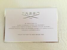 Authentic NEW CREED PARIS Spring Flower Fragrance Eau de Pafum Sample 0.08oz