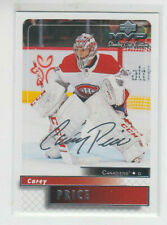 19/20 UD MVP Montreal Canadiens Carey Price 20th Anniversary Retro card #92
