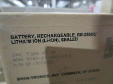 Bb-2590/U 7.5Ah Mfr Date 1214 Rechargeble Lithium-Ion Battery #5ofz